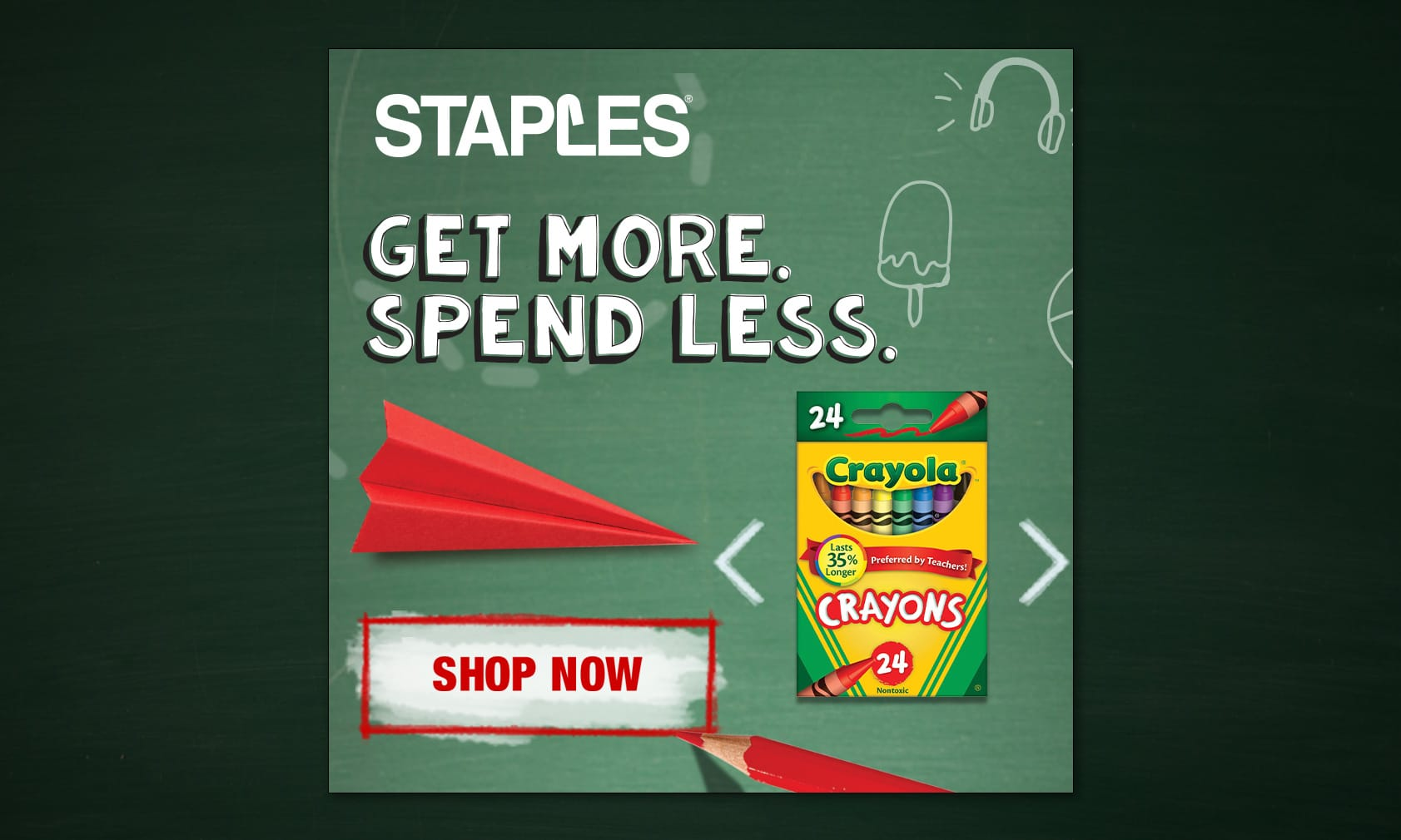 Staples Back to School Banners